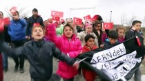 KARAKOL KOMUTANI - Afrin'deki Mehmetçik'e Öğrencilerden Destek