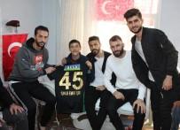 OSMANPAŞA - Akhisarspor'dan Afrin Gazisine Ziyaret
