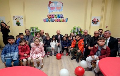 Amasya Üniversitesinde Çocuk Kütüphanesi Açıldı