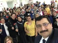 ENGELLİ KADIN - Başkan Ak Kadın Çalışanlarla Buluştu