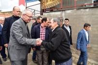 KARAKOL KOMUTANI - Başkan Ergün'den Kıranşeyh'e 'Hayırlı Olsun' Ziyareti