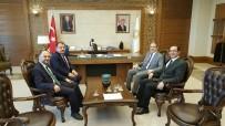 MEHMET ZENGIN - Başkan Özaltun'dan, Rektör Şahin'e Ziyaret