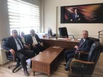 TAZİYE ZİYARETİ - Başkanlardan Taziye Ziyareti