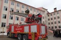 YANGIN TÜPÜ - Bitlis Belediyesinden Yangın Tatbikatı