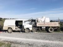 MAZLUM - Çanakkale'de Feci Kaza Açıklaması 1 Ölü 9 Yaralı