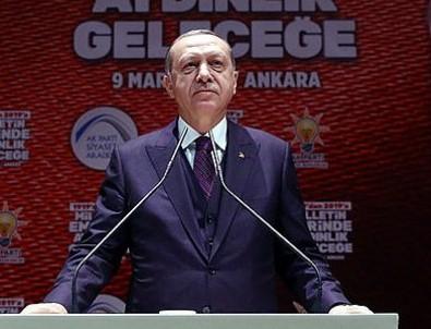 Cumhurbaşkanı Erdoğan: Afrin'e her an girebiliriz