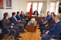 MİLLETVEKİLLİĞİ - Davutoğlu'ndan İlçe Teşkilatlarına Ziyaret