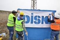 DİSKİ Silvan'ın Kırsal Mahallelerindeki Su Depolarını Yeniliyor