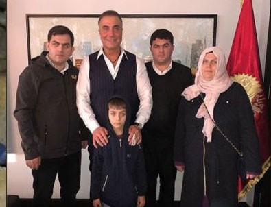 Eren Bülbül'ün ailesinden Sedat Peker'e ziyaret