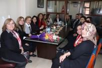 BATı KARADENIZ - Elif Acar'dan Kadın Girişimcilere Ziyaret