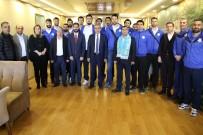 İSMAIL GÜNEŞ - Haliliye Belediyespor Voleybol Takımı, Play- Off  Yarı Finallerinde