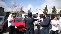 MESCİD-İ AKSA - İsrail Maratonunu Protesto Etmek İsteyen Filistinlilere Engel