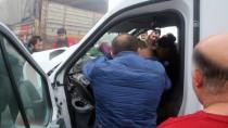 YOLCU MİNİBÜSÜ - Kastamonu'da Trafik Kazası Açıklaması 12 Yaralı