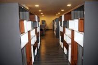 KÜLTÜR SANAT MERKEZİ - Neşet Ertaş Kültür Sanat Merkezi Kütüphanesi Hizmete Girdi