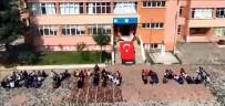 İNSAN ZİNCİRİ - Öğrencilerden Afrin'deki Mehmetçiğe Videolu Destek