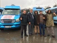 BOSTANCı - Dudullu-Bostancı Minibüsçüleri Kazançlarını Mehmetçik'e Bağışladı