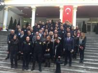 İBRAHIM AYDEMIR - Polis Okulunda Azeri Ve Türk Vekilden Afrin'e Selam