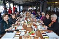 ÇALIŞAN KADIN - Protokol Eşleri 'Güçlü Kadın, Güçlü Aile, Güçlü Türkiye' Sloganıyla  Kahvaltıda Buluştu