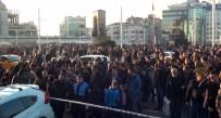 TAKSIM MEYDANı - Taksim'den Silah Sesleri Yükseldi