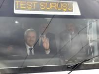 ÖDEME SİSTEMİ - Ulaştırma Bakanı Arslan, Başkentray'ın Test Sürüşünü Gerçekleştirdi