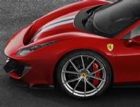 FERRARI - Yeni Ferrari 488 Pista'nın lastikleri Michelin'den
