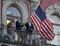 RUSYA BÜYÜKELÇİSİ - ABD bayrağı indirildi!