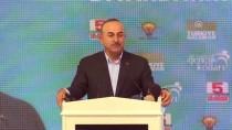 BILAL ÖZKAN - Dışişleri Bakanı Çavuşoğlu Diyarbakır'da Esnafı Ziyaret Etti