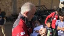 CİLVEGÖZÜ SINIR KAPISI - GÜNCELLEME - Doğu Guta Ablukasının Simgesi Kerim Bebek Türkiye'de