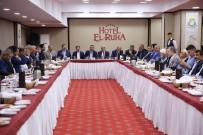 MAHMUT KAÇAR - Haliliye'deki Çalışmalarla İlgili İstişare Toplantısı Yapıldı