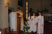 RAHİP - Hristiyanlar Paskalya'yı Kutladı