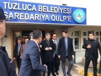 İçişleri Bakanlığı Müsteşarı İnce Tuzluca Belediyesini Ziyaret Etti