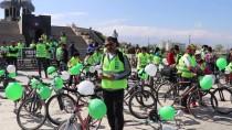Iğdır'da Pedallar Sağlıklı Yaşam İçin Çevrildi