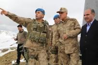 JANDARMA GENEL KOMUTANI - Jandarma Genel Komutanı Orgeneral Çetin, Kato Dağına Çıktı