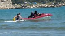 HÜSEYIN ÇALıŞKAN - Mersin'de Deniz Keyfi