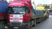Niğde'den Suriye'ye 10 Tır İnsani Yardım Malzemesi Gönderildi