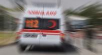 Otomobil Şarampole Yuvarlandı Açıklaması 2 Ölü, 3 Yaralı