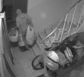 Zeytinburnu'nda Bir Apartmana Giren Hırsız Binayı Soyup Soğana Çevirdi