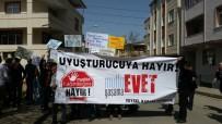 GRUP GENÇ - Sancaktepe'de Bir Grup Genç 'Uyuşturucuya Hayır' Eylemi Düzenledi
