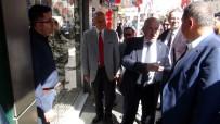 TİM Başkanı Büyükekşi Esnafı Ziyaret Etti