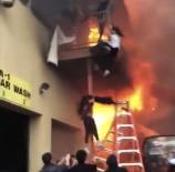 NEW JERSEY - ABD'de Türk Restoranında Yangın