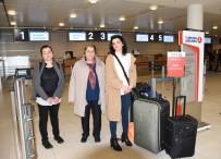 MÜNİH - Almanya'da Havalimanı Grevleri Yolcuları Perişan Etti
