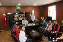 Başarılı Sporculardan Turan'a Ziyaret