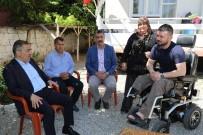 Başkan Çelikcan, Afrin Gazisi Türkmen'i Ziyaret Etti