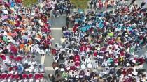 GÜNAY ÖZTÜRK - Beş Bin 555 Öğrenci Aynı Anda Kitap Okudu