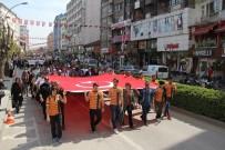 Çorum'da Polis Halk Günü Yürüyüşü