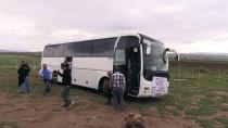 CİLVEGÖZÜ SINIR KAPISI - Gazetecilerden Zeytin Dalı Harekatı'na Destek