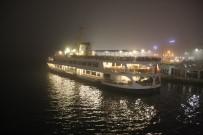 GALATA KULESI - İstanbul'da Deniz Ulaşımına Sis Engeli