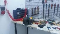 KAYNAK MAKİNESİ - İstanbul'da Kaçak Silah Üretim Deposuna Baskın Açıklaması 2 Gözaltı
