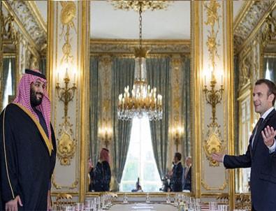 Macron'dan Suriye'ye saldırı sinyali
