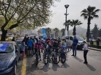 Öğrenciler Bisikletleriyle Yarıştı